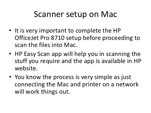 Hp Easy Scan Mac
