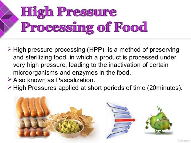 High pressure processing of food 5 forumfinder Choice Image