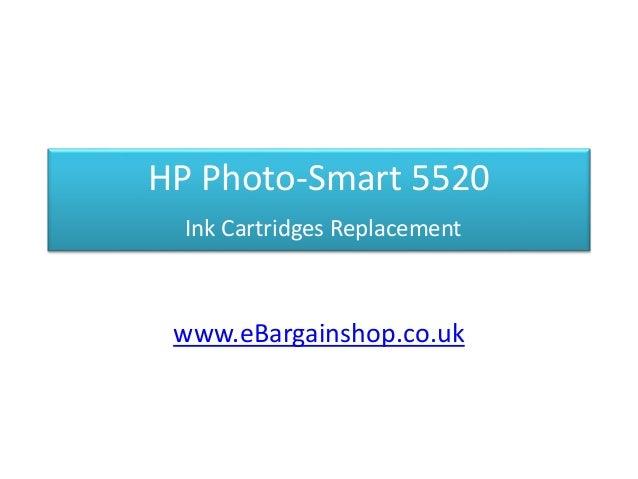 HP Photo-Smart 5520 Ink Cartridges Replacement www.eBargainshop.co.uk