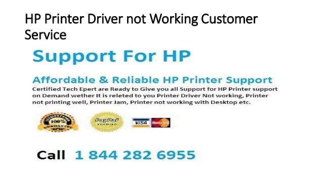 HP Printer Driver not Working Customer Service