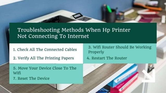 Why Hp Printer Not Connecting to Internet 1-8009837116 Fix Now Slide 3