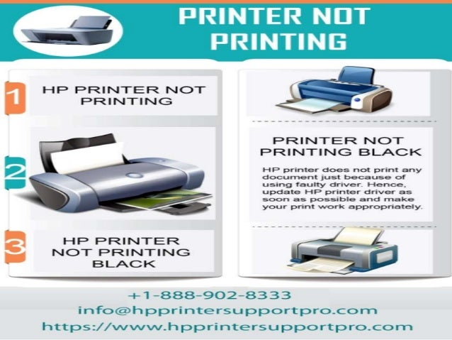 Hp printer not printing black +1 888-902-8333 printer not printing