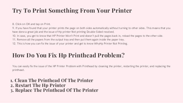 Why Hp Printer Not Printing Double Sided 1-8009837116 How Can I Fix? Slide 3