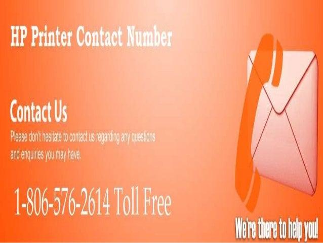 Hp printer number 1 806-576-2614
