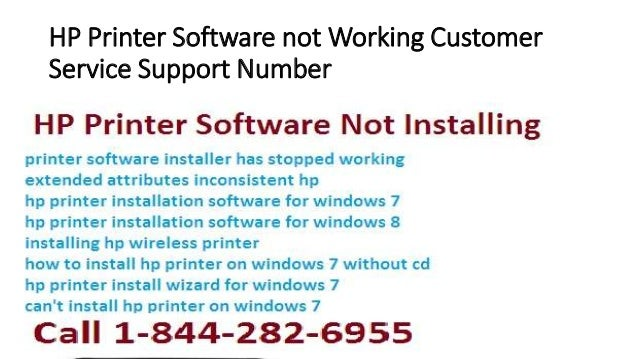 HP Printer Software not Working Customer Service Support Number
