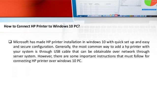 How to Connect HP Printer to Windows 10 PC