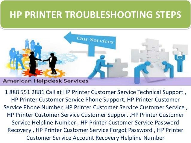 HP Printer Troubleshooting Steps