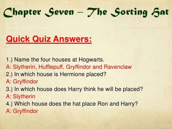 Harry Potter Book Questions And Answers : Harry potter book quick quizzes and do now tasks
