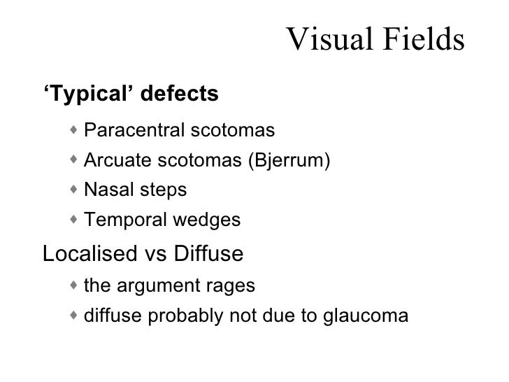 visual fields in glaucoma How do you interpret a 24-2 humphrey visual  and lower fields are different and may signify glaucoma  with glaucoma glaucoma today delivers.