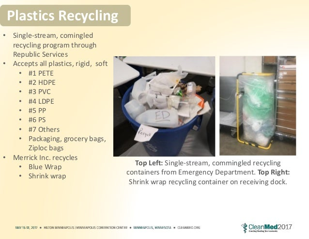 Healthcare Plastics Recycling It S Not All Rainbows And