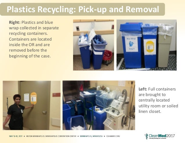 Healthcare Plastics Recycling: It's Not All Rainbows and