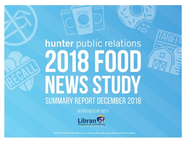 ©2018 Hunter Public Relations in Partnership with Libran Research & Consulting 1©2018 Hunter Public Relations in Partnersh...
