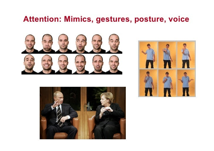 Attention: Mimics, gestures, posture, voice     This is the property of Project Management Institute and may not be reprod...