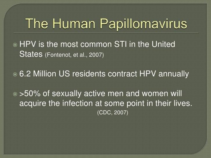 Hpv Educational Presentation Slide 2