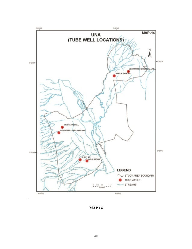 Hp Wq Study Of Ground Water Quality Characteristics In Industrially P