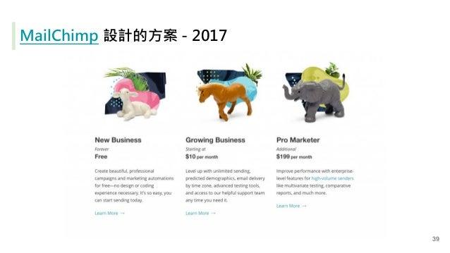 MailChimp 設計的方案 - 2017 39