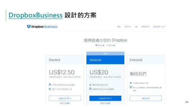DropboxBusiness 設計的方案 54
