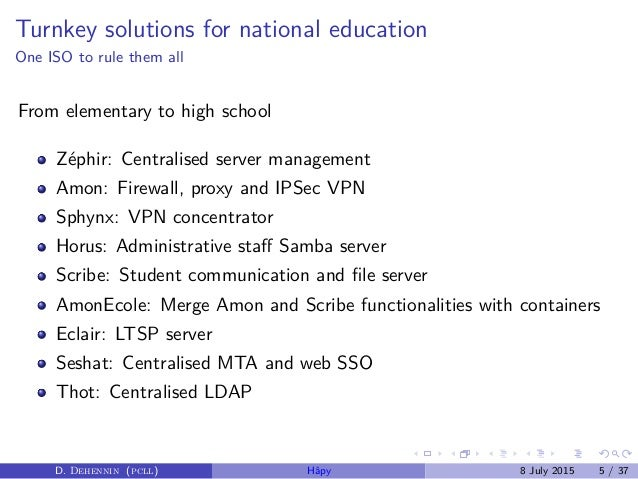 Hâpy eole-gnu-linux-distribution
