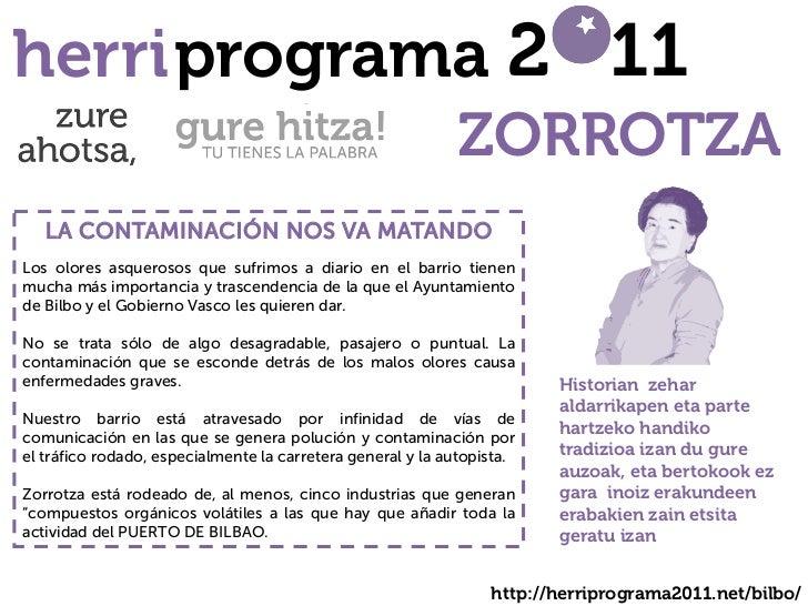 herri programa 2 11                                                             ZORROTZA   LA CONTAMINACIÓN NOS VA MATANDO...
