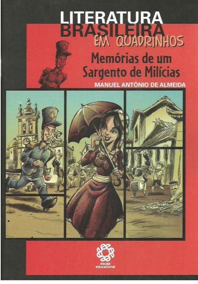 livro memorias de um sargento de milicias pdf