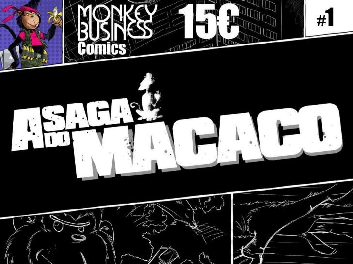 MonkeyBusiness Comics A Saga do Macaco
