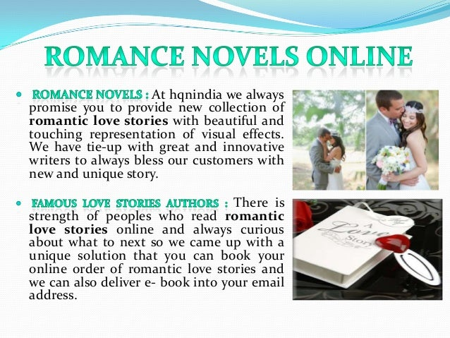 Online Love Stories Books