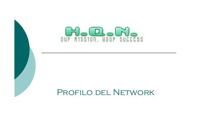 Profilo del Network