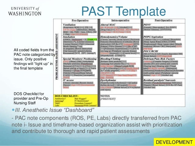 Informatics tools and patient handovers development past template 26 pronofoot35fo Gallery
