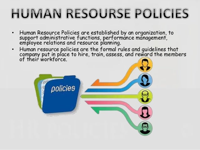 hr policies and procedures template human resources policy manual