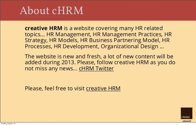 HR Business Partner: Roles and Responsibilities Slide 2