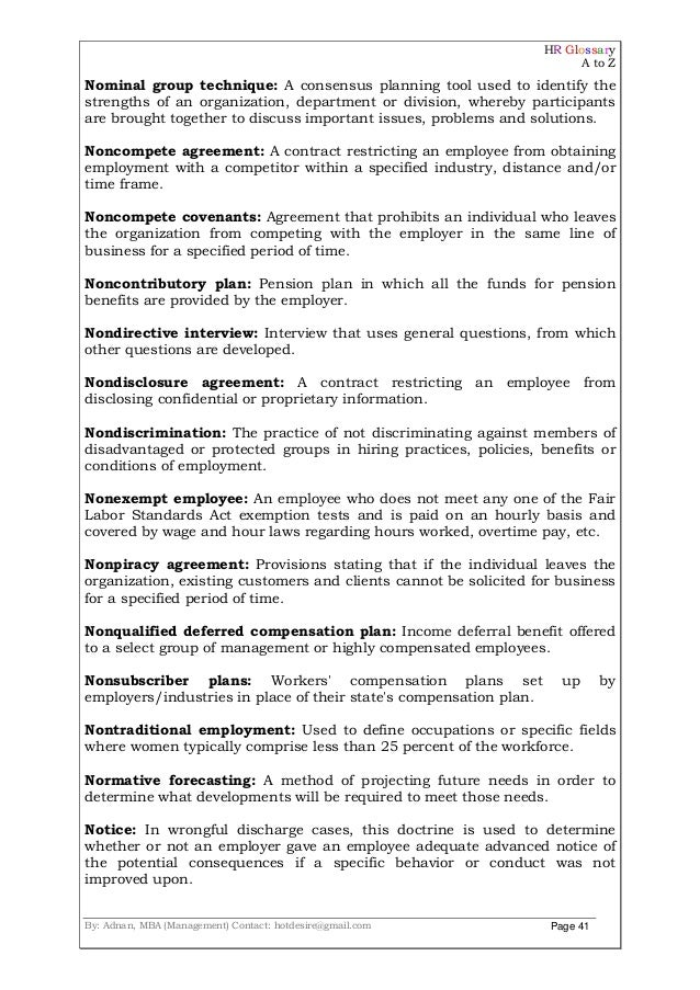 Hr Agreement Sample Basic Employment Agreement Contract Sample Hr