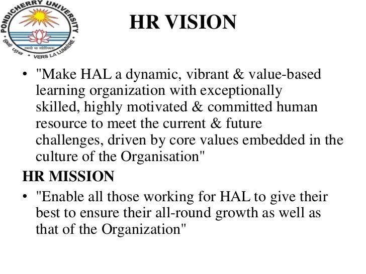 hr values statement