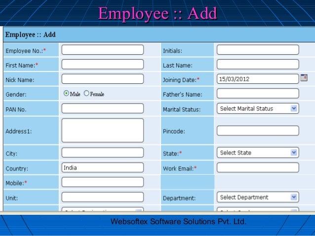 Employee :: Add Websoftex Software Solutions Pvt. Ltd.
