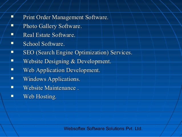    Print Order Management Software.   Photo Gallery Software.   Real Estate Software.   School Software.   SEO (Searc...