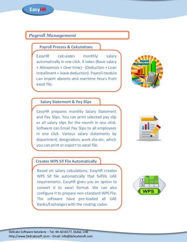 HR Payroll Software for Dubai UAE