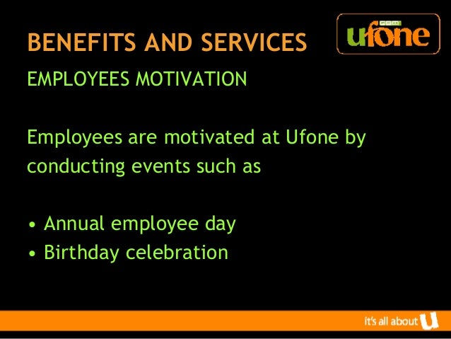 HUMAN RESOURCE PRACTICES AT UFONE