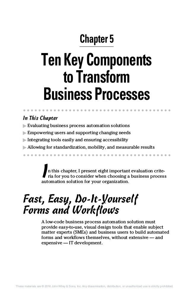 Hr process efficiency for dummies chapter 5 45 fandeluxe Gallery