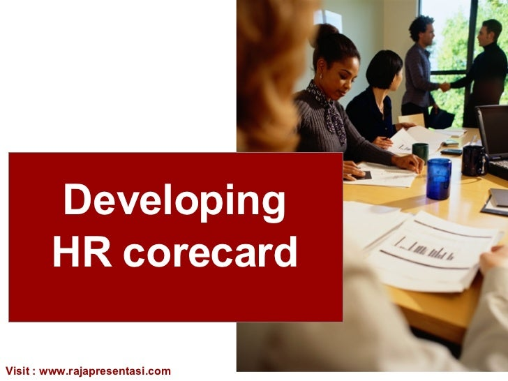 Developing  HR  corecard