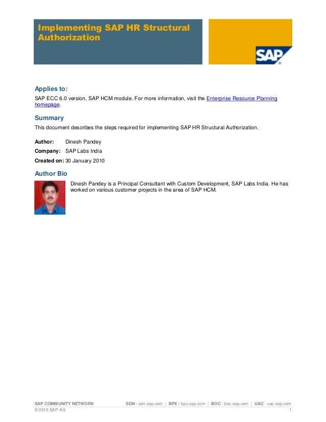 SAP COMMUNITY NETWORK SDN - sdn.sap.com   BPX - bpx.sap.com   BOC - boc.sap.com   UAC - uac.sap.com © 2010 SAP AG 1 Implem...