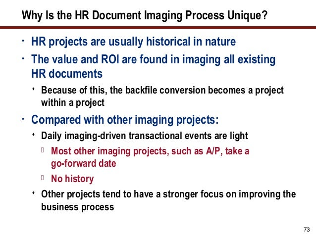 Improving HR Document Availability and Process Workflows with Electro…