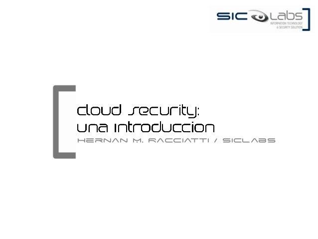 Hernan M. Racciatti / SICLabs