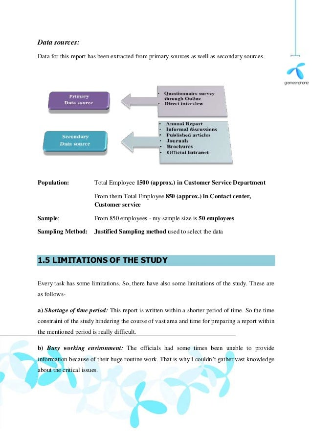 Internship report on grameenphone ltd
