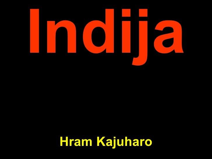Ind ija Hram Kajuharo