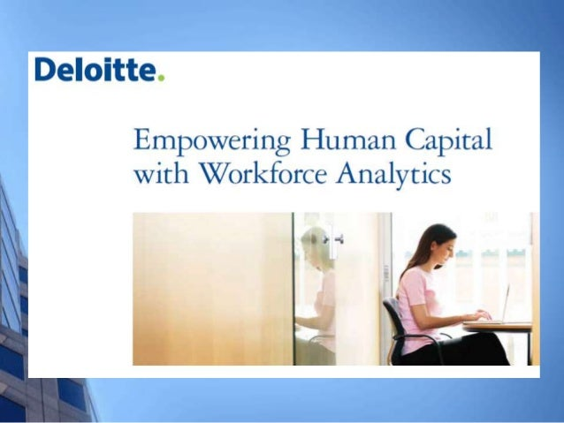 HOW CAN ORGANISATIONS USE      WORKFORCE ANALYTICS? Forward-looking workforce planning Managing talent acquisition Dive...