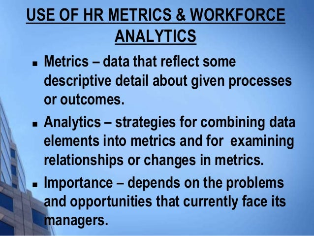 how to learn hr analytics