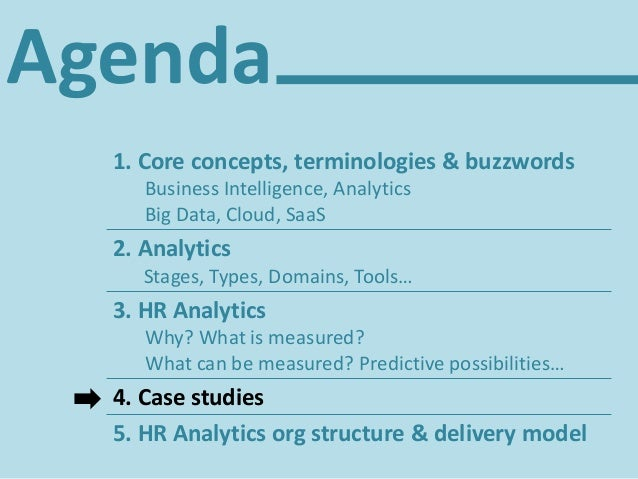 Agenda 1. Core concepts, terminologies & buzzwords Business Intelligence, Analytics Big Data, Cloud, SaaS 2. Analytics Sta...