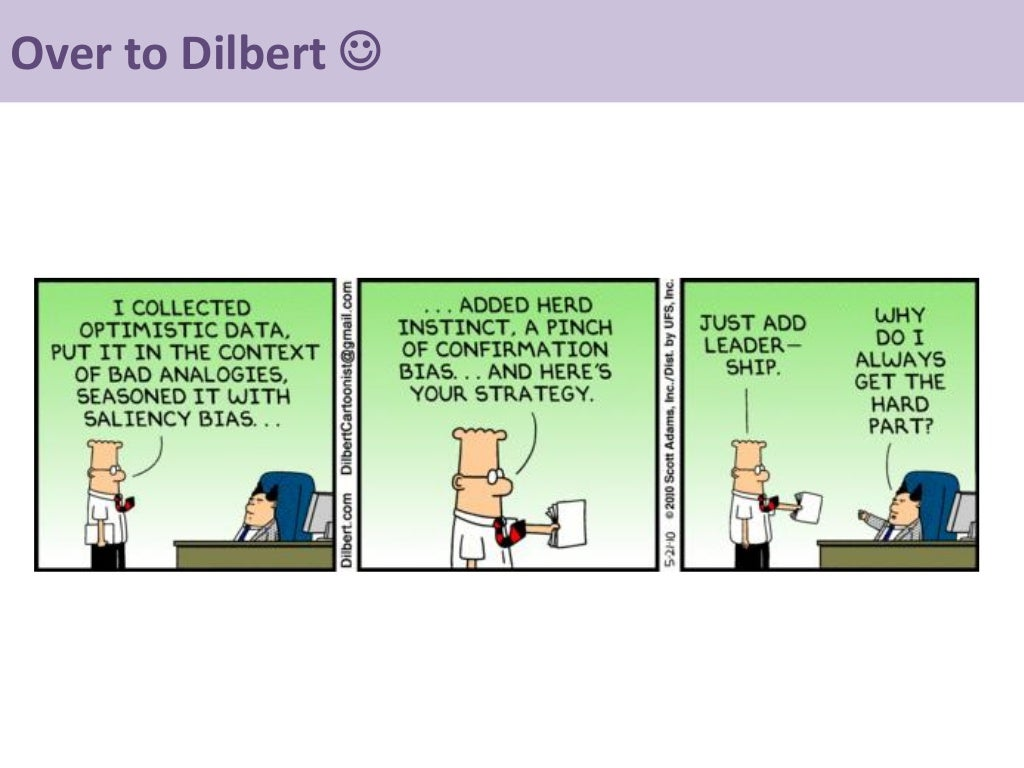 Over To Dilbert