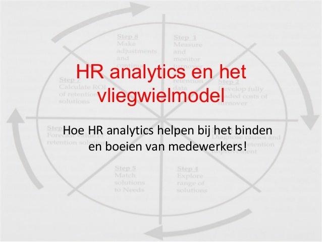 HR analytics en het vliegwielmodel Hoe HR analytics helpen bij het binden en boeien van medewerkers!