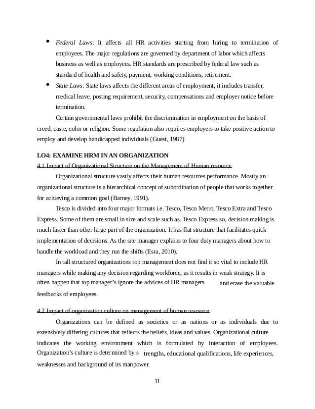 HR Management Assignment Sample