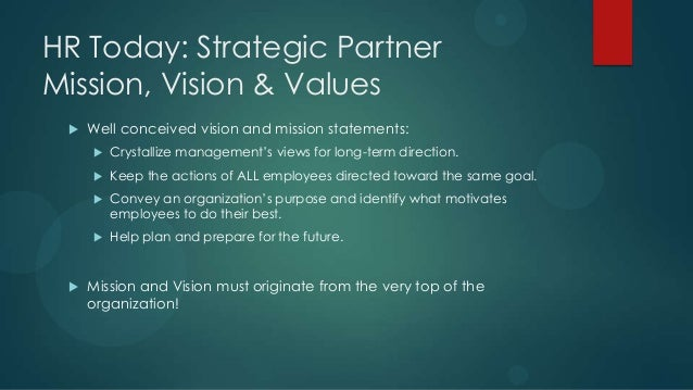 human resources as a strategic partner Strategy partner is the biggest transformation of the hr role in the new era.